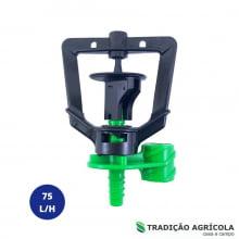 MICROASPERSOR RONDO 75L/H RIVULIS + ESTACA 60CM